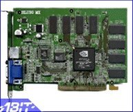 ABIT Siluro GF2-T400, GeForce2 MX/400, 64MB, TV-out, AGP, Retail