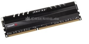Avexir Core Series DIMM  4GB PC3-10667U CL9-9-9-24 (DDR3-1333) (AVD3U13330904G-1CW) -- (c) caseking.de