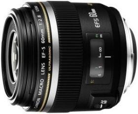 Canon EF-S 60mm 2.8 macro USM black (0284B003/0284B007)