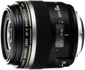 Canon EF-S 60mm 2.8 Makro USM schwarz (0284B003/0284B007)