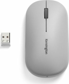 Kensington SureTrack Dual Wireless Mouse grau, USB/Bluetooth (K75351WW)
