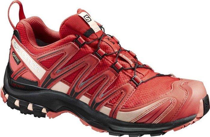 Salomon Damen Xa Pro 3D GTX W Traillaufschuhe, Rot (Poppy Red/Black/Living Coral), 38 2/3 EU