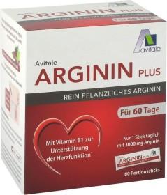 Avitale Arginin plus Pulver Portionsbeutel, 60 Stück