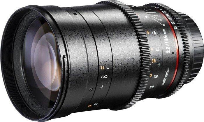 Walimex Pro 135mm T2.2 VDSLR for Canon EF black (20743)