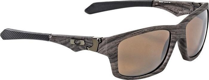 oakley jupiter squared polarized wood grain