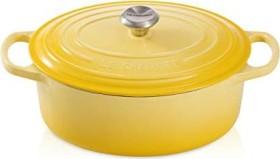 Le Creuset Signature Gusseisen Bräter oval 31cm citrus (21178314032430)