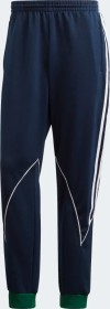 adidas Big Trefoil Abstract Laufhose lang collegiate navy/dark green/white (Herren) (GE6237)