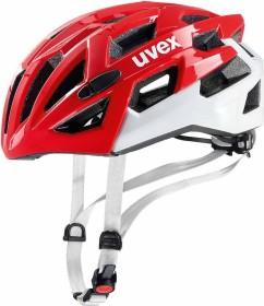 UVEX Race 7 Helm rot/weiß