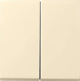 Gira System 55 Wippe 2fach, cremeweiß (0295 01)