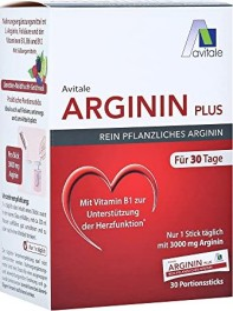 Avitale Arginin plus Pulver Portionsbeutel, 30 Stück
