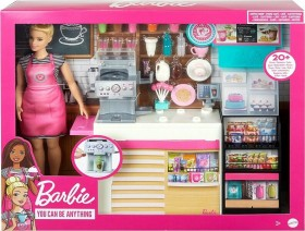 Mattel Barbie Coffee Shop Playset (GMW03)
