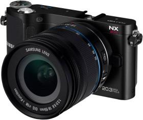 Samsung NX200 schwarz mit Objektiv 18-55mm i-Function