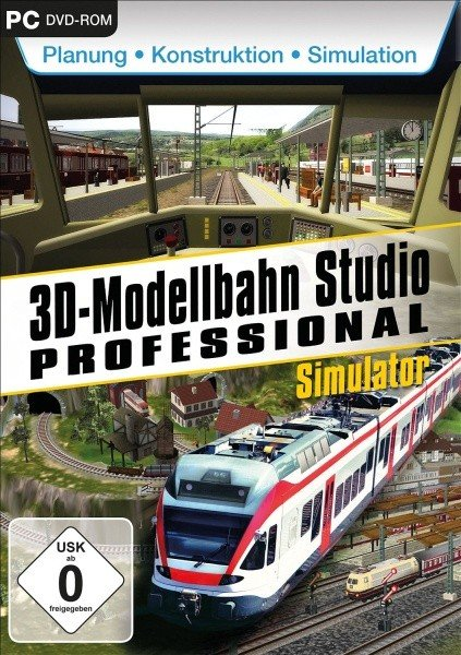 3D Modellbahn Studio Professional (German) (PC)