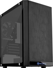 SilverStone Precision PS15, black, glass window (SST-PS15B-G/25022)