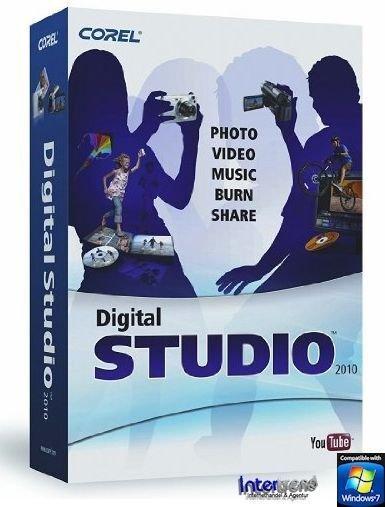 Corel: Digital Studio 2010 (deutsch) (PC) (DS2010DEMB) -- via Amazon Partnerprogramm