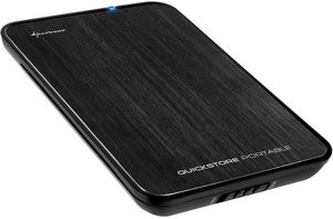 "Sharkoon Quickstore portable black, 2.5"", USB 3.0 micro B (0202)"