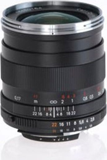 Zeiss ZF.2 Distagon T* 25mm 2.8 for Nikon F black -- via Amazon Partnerprogramm