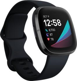 Fitbit Sense Aktivitäts-Tracker carbon/graphit (FB512BKBK)