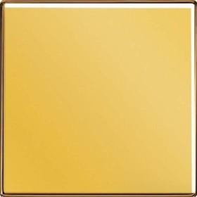 Jung Serie LS Wippe Metallausführung, vergoldet (LS 990 GGO)