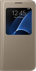 Samsung S-View Cover for Galaxy S7 gold (EF-CG930PFEGWW)
