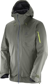 Salomon QST Guard ski jacket beluga (men) (397033)