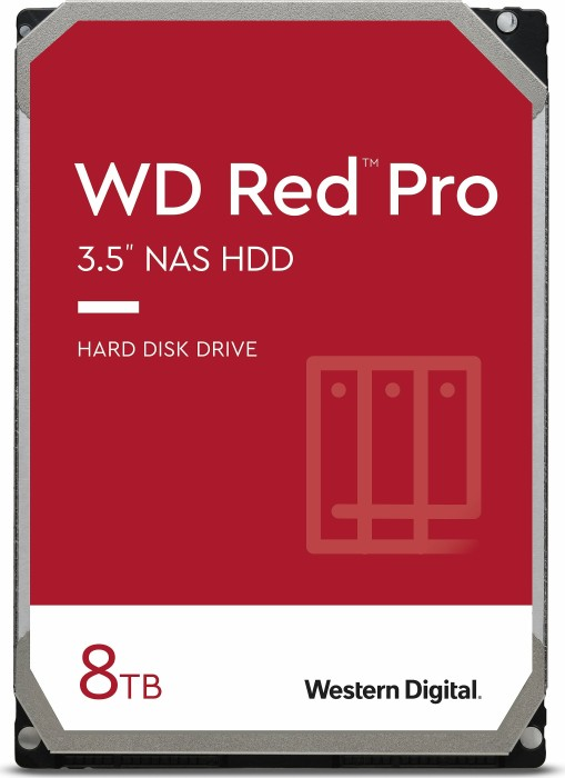 "Western Digital WD Red Pro 8TB, 3.5"", SATA 6Gb/s (WD8001FFWX)"