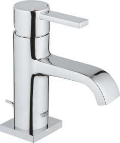 Grohe Allure one-hand-bathroom sink tap M-Size with drain remote chrome (32757000)