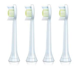 Philips HX6064/05 Sonicare DiamondClean replacement toothbrush head, 4-pack