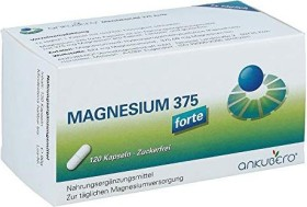 Ankubero Magnesium 375 forte Kapseln, 120 Stück