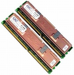 OCZ DIMM Kit 512MB, DDR-400, CL2-2-3-6-1T
