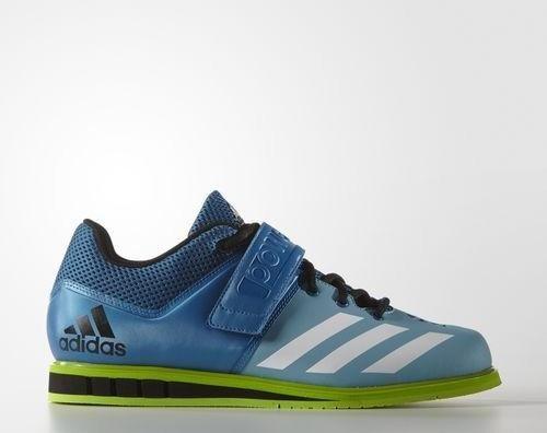 adidas Powerlift 3 unity blue/footwear white/semi solar green (Herren) (AQ3331) -- ©adidas