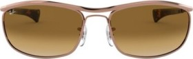 Ray-Ban RB3119M Olympian I Deluxe 62mm shiny rose gold/light brown gradient (RB3119M-920251)
