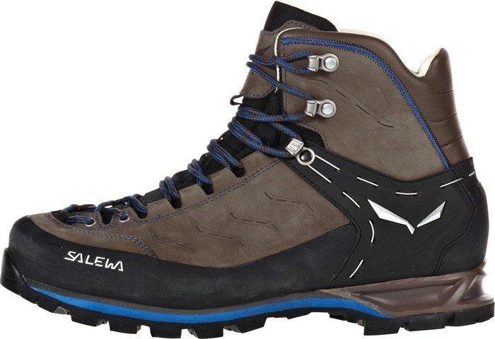c2223d5e989 Salewa Mountain Trainer mid Leather walnut/royal blue (men)