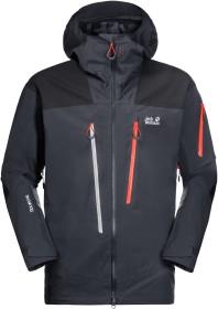 Jack Wolfskin Solitude Mountain Skijacke ebony (Herren) (1113361-6230)