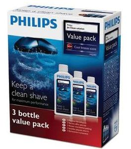 Philips HQ203/50 Jet Clean cleaning fluid, 3-pack