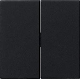 Gira System 55 Wippe 2fach, schwarz (0295 005)