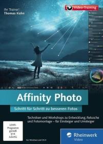 Rheinwerk Verlag Affinity Photo - Schritt für Schritt zu besseren Fotos (deutsch) (PC/MAC)