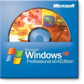 Microsoft Windows XP Professional Edition 64bit DSP/SB, 1-pack (English) (PC) (ZAT-00054)