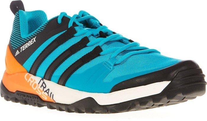 290d42f5a55093 adidas Terrex Trail Cross SL energy blue core black bright orange (Herren)  (BB0715)