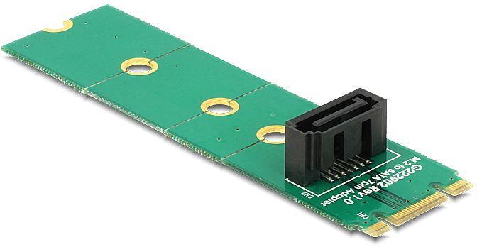 DeLOCK adapter M.2 NGFF > SATA 7 pin (62548)