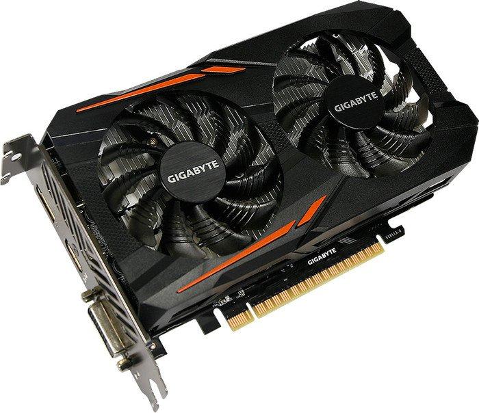 Gigabyte GeForce GTX 1050 OC 3G, 3GB GDDR5, DVI, HDMI, DP (GV-N1050OC-3GD)