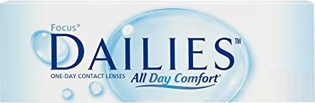 Alcon Focus Dailies All Day Comfort, +2.50 diopters, 30-pack