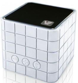 V7 Bluetooth Wireless Portable Speaker weiß (SP5000-BT-WHT-9EC)