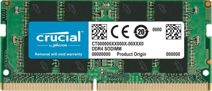 Crucial SO-DIMM 16GB, DDR4-2400, CL17 (CT16G4SFD824A)