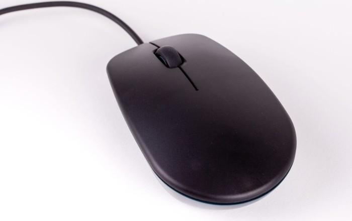 Raspberry Pi The Raspberry Pi Mouse, schwarz/grau, USB (RPI-MOUSE-BLACK/GREY)