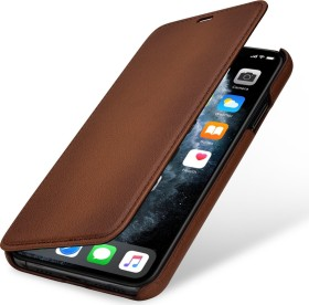 Stilgut Book Type Leather Case für Apple iPhone 11 Pro Max braun (B07XRPK633)