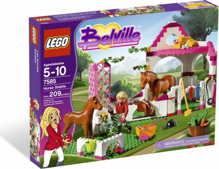 LEGO - Belville - Horse Stable (7585) -- via Amazon Partnerprogramm