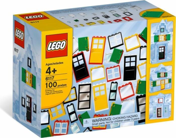 LEGO Steine & Co. - Türen und Fenster (6117) -- via Amazon Partnerprogramm
