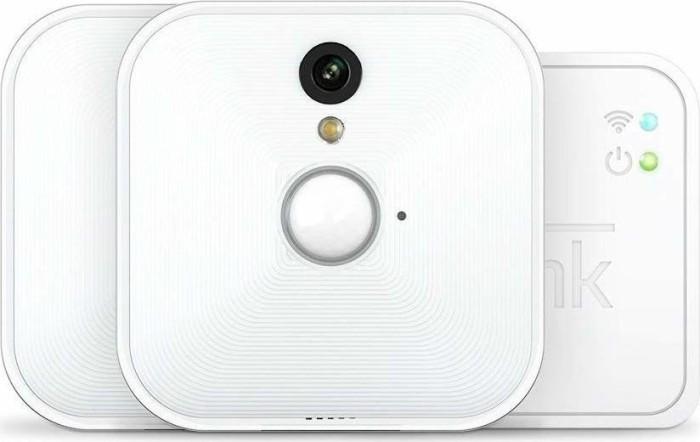 Blink 2x Indoor Kamera weiß + Sync-Modul, Set (B2SC2M21)