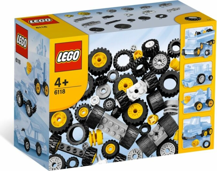 LEGO Steine & Co. - Räder (6118) -- via Amazon Partnerprogramm